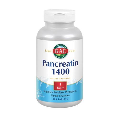 Pancreatin 1400 500 Tabs by Kal