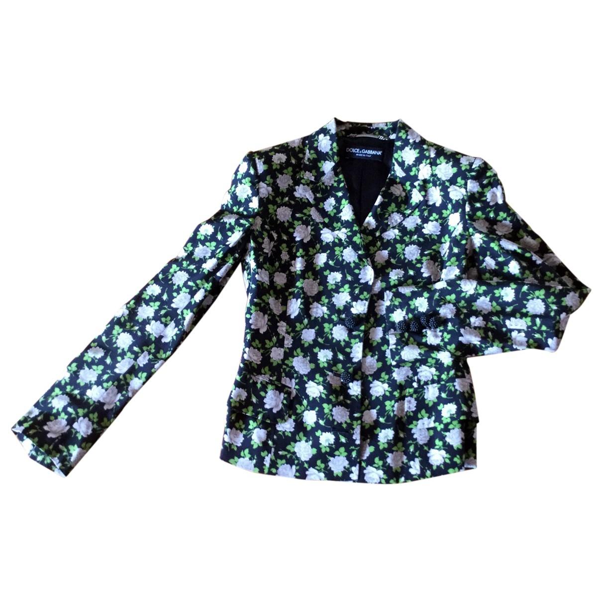 Dolce & Gabbana \N Multicolour Silk jacket for Women 38 IT