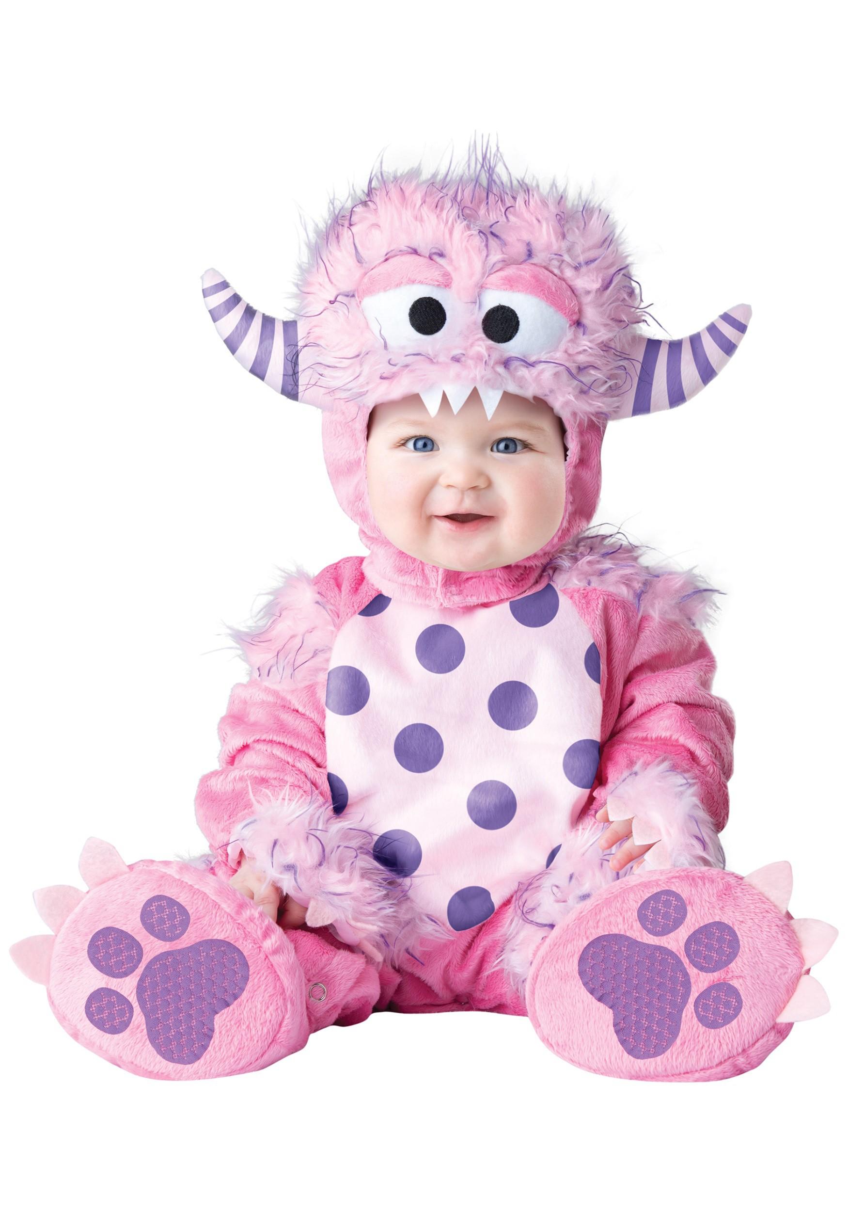 Toddler/Infant Lil Pink Monster Costume