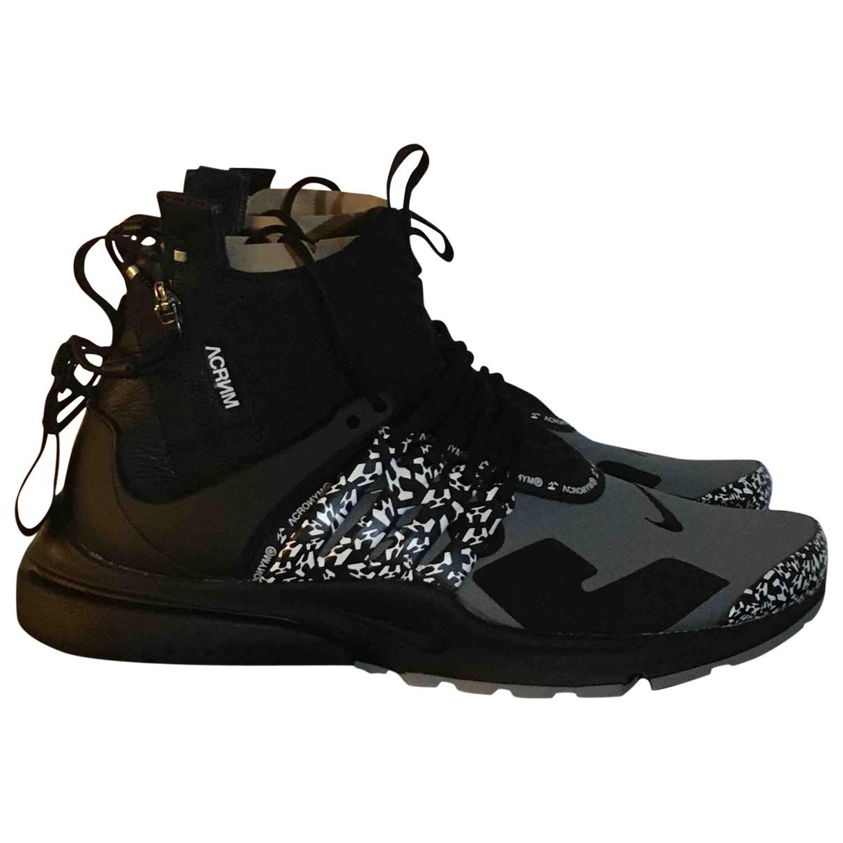 Nike X Acronym \N Grey Cloth Trainers for Men 44 EU