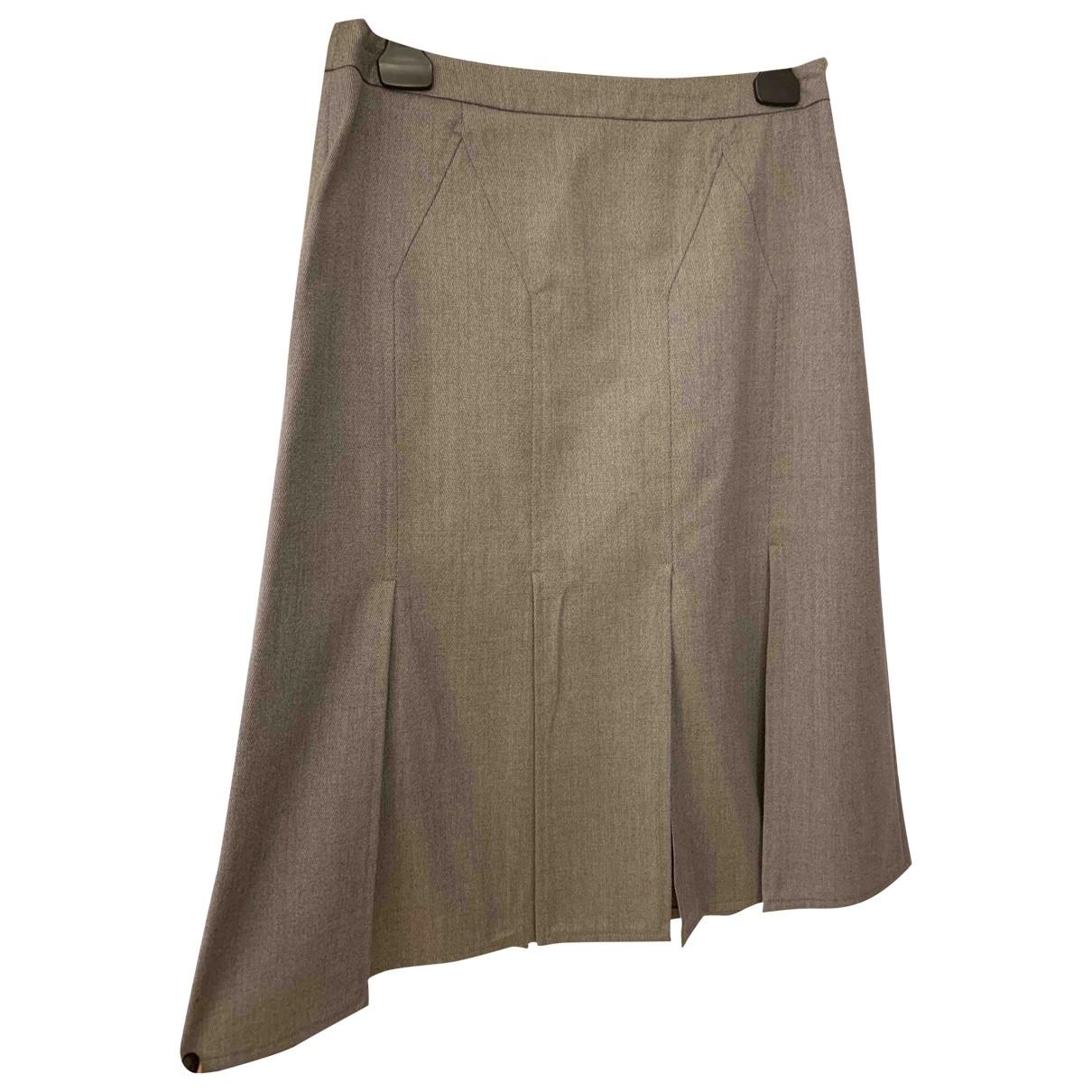 Cacharel - Jupe   pour femme en laine - gris