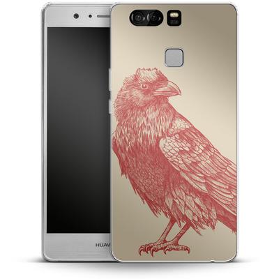 Huawei P9 Silikon Handyhuelle - Red Raven von Terry Fan