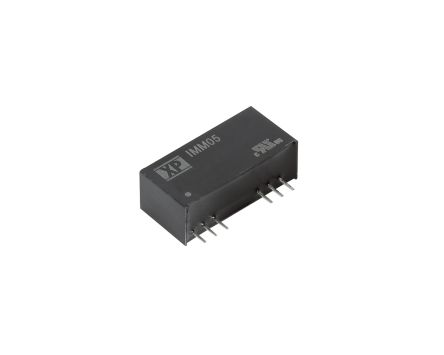 XP Power IMM05 5W Isolated DC-DC Converter Through Hole, Voltage in 9 → 18 V dc, Voltage out 3.3V dc Medical