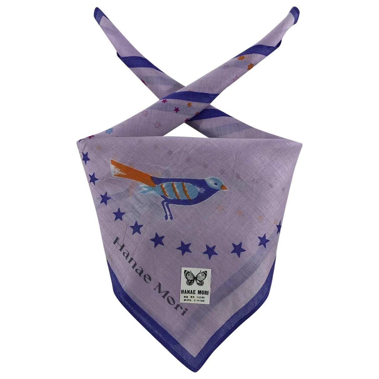 Hanae Mori \N Cotton scarf for Women \N