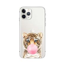1 Stueck iPhone Schutzhuelle mit Tiger Muster