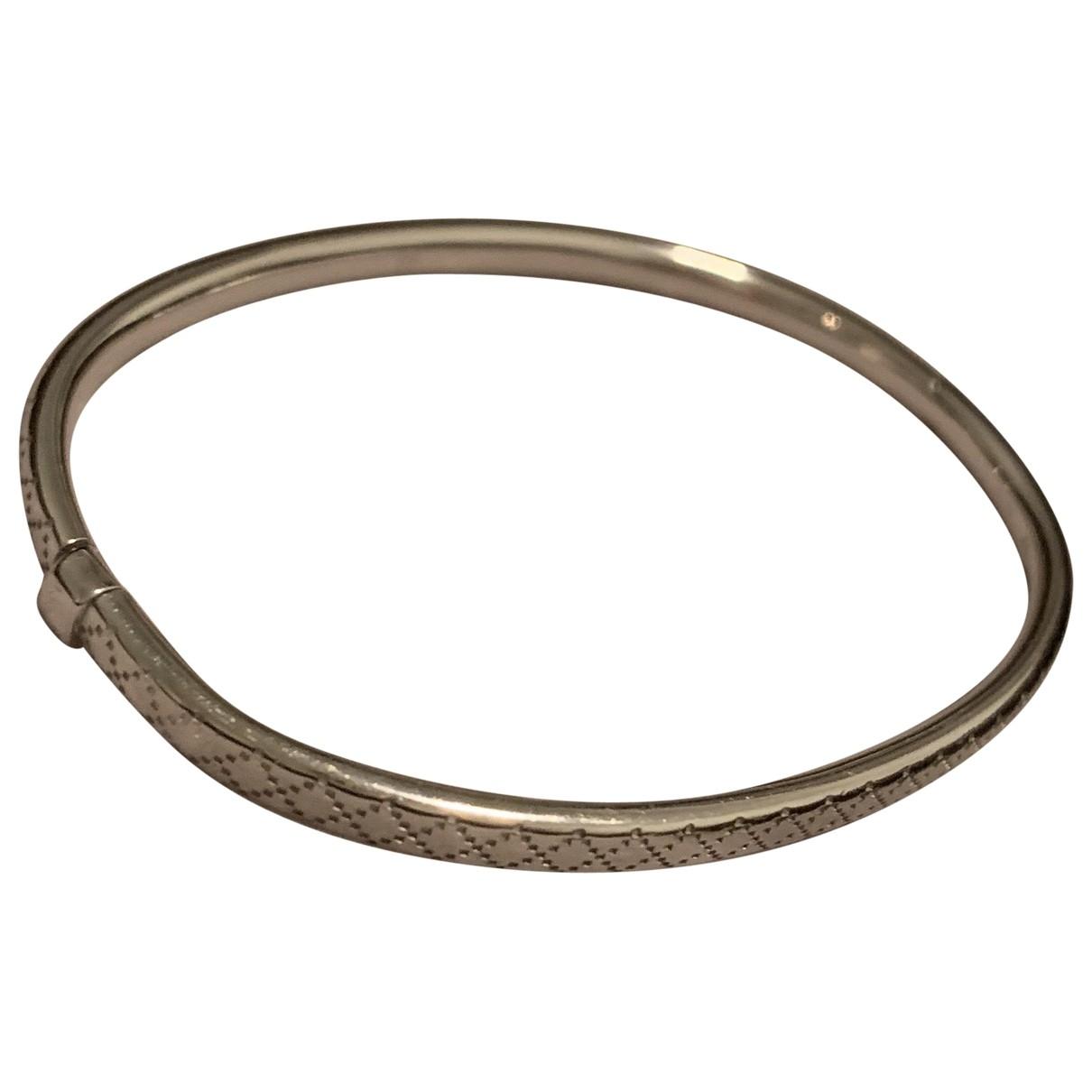 Gucci - Bracelet   pour femme en or blanc - argente