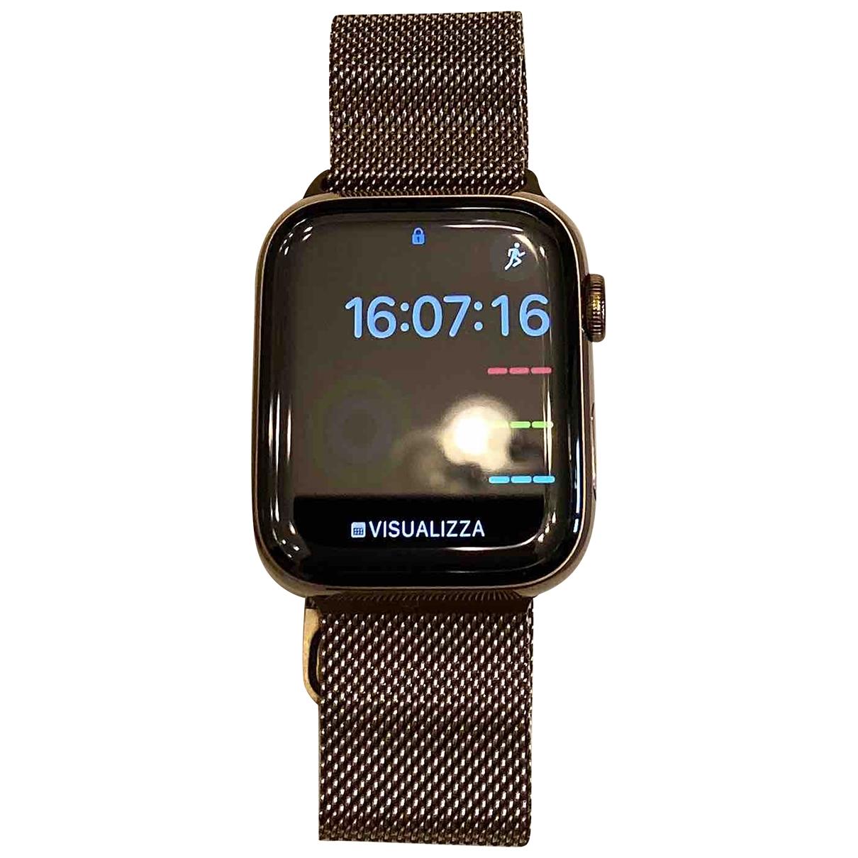 Apple Apple Watch 44mm Uhr in  Gold Stahl
