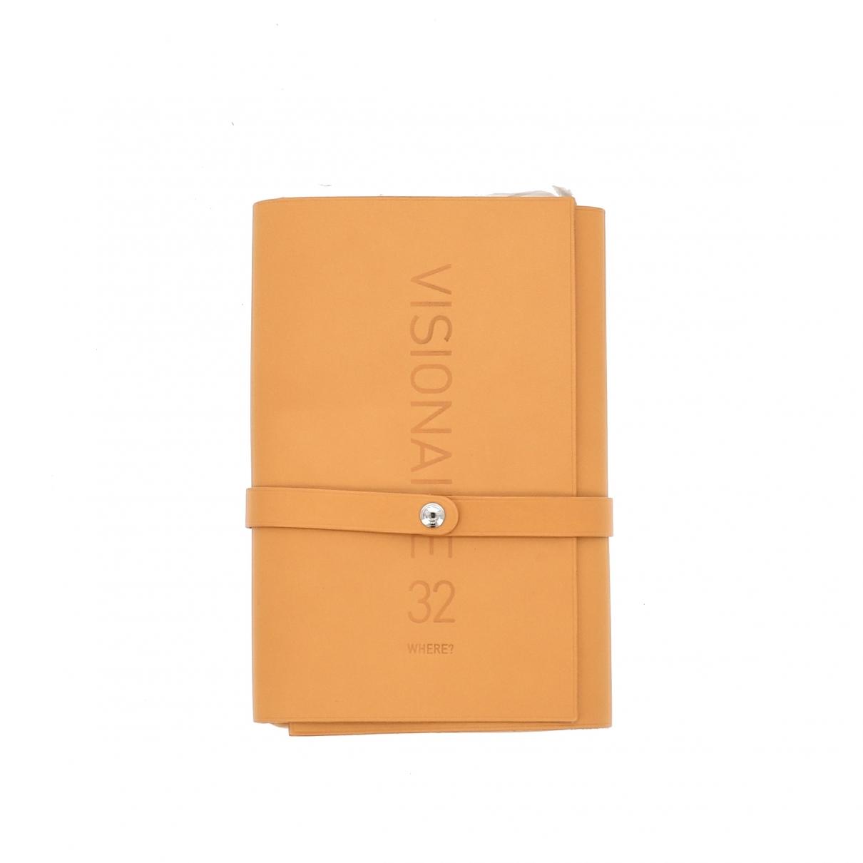 Hermes - Objets & Deco   pour lifestyle en cuir - beige