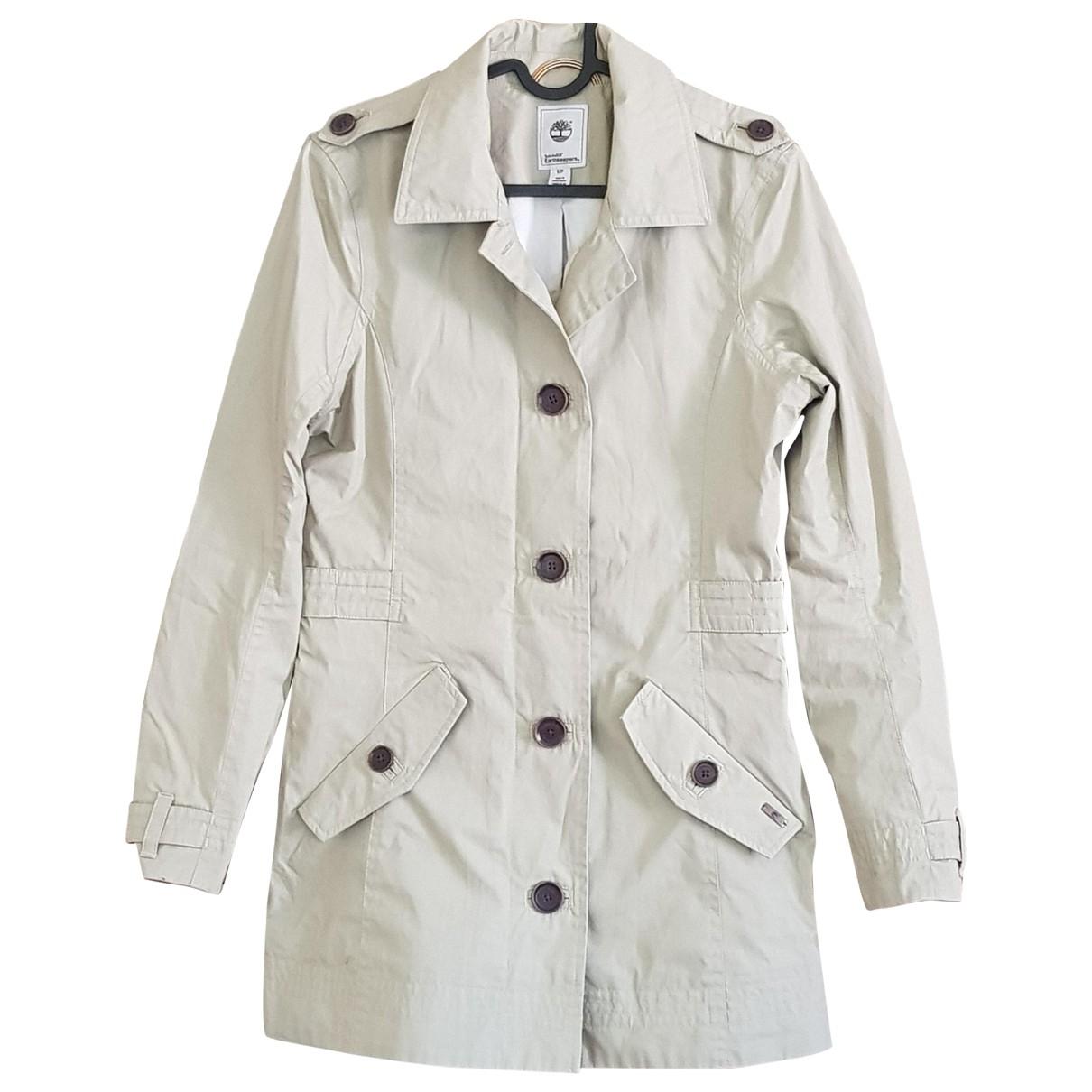 Timberland - Veste   pour femme en coton - beige