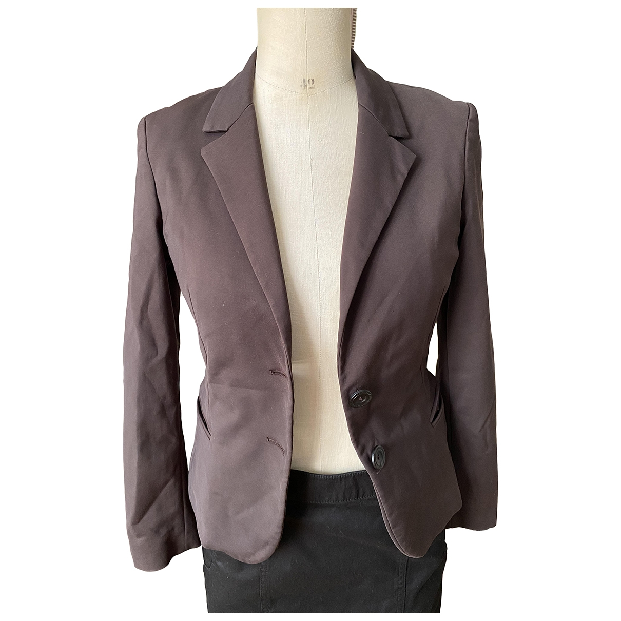 Guess - Veste   pour femme en coton - marron