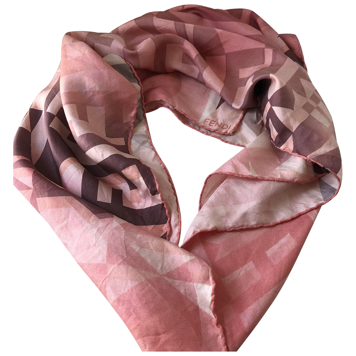 Fendi \N Multicolour Silk Silk handkerchief for Women \N