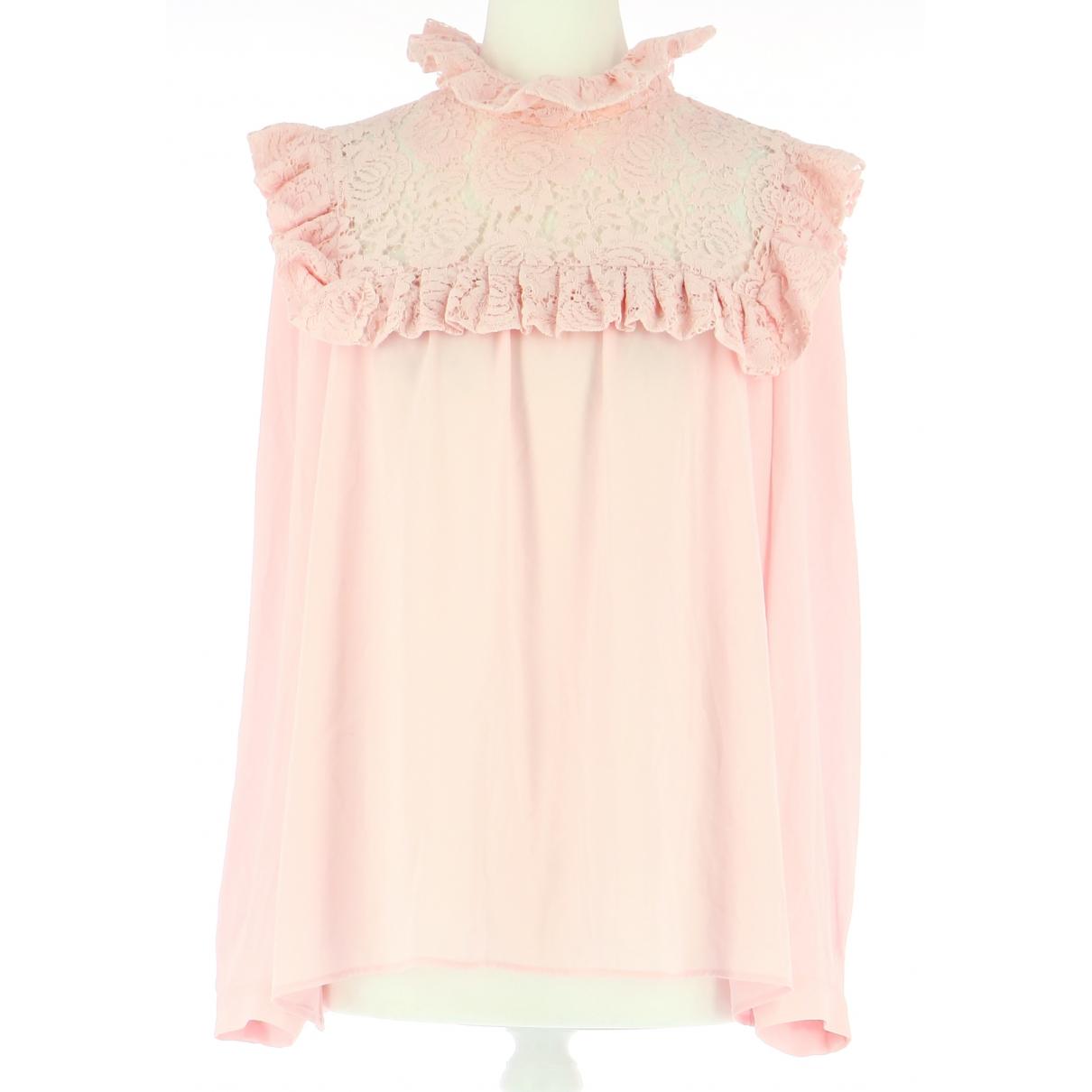 Claudie Pierlot - Top   pour femme - rose