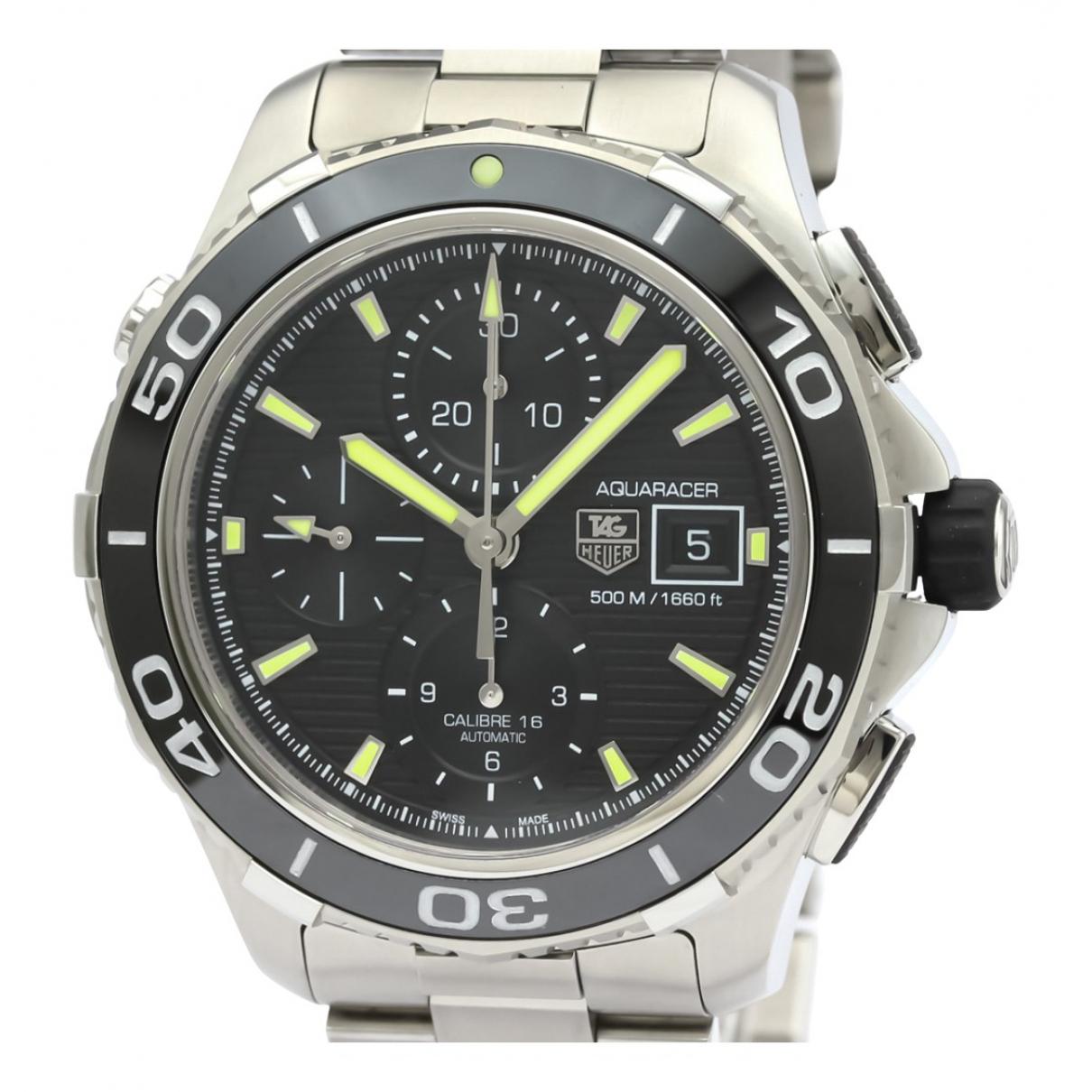Tag Heuer Aquaracer  Uhr in  Schwarz Stahl