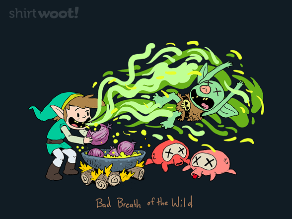 Bad Breath Of The Wild T Shirt