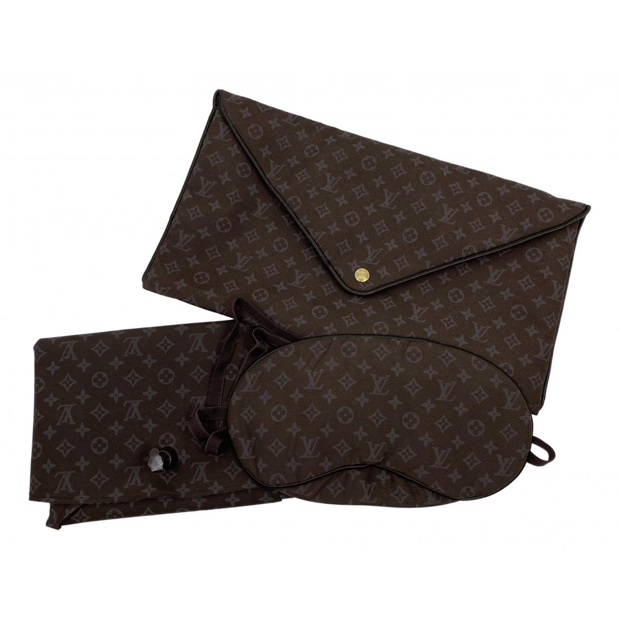 Louis Vuitton - Objets & Deco   pour lifestyle en soie - marron