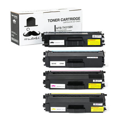 Compatible Brother TN315 cartouche de toner combo haute capacite - Moustache@