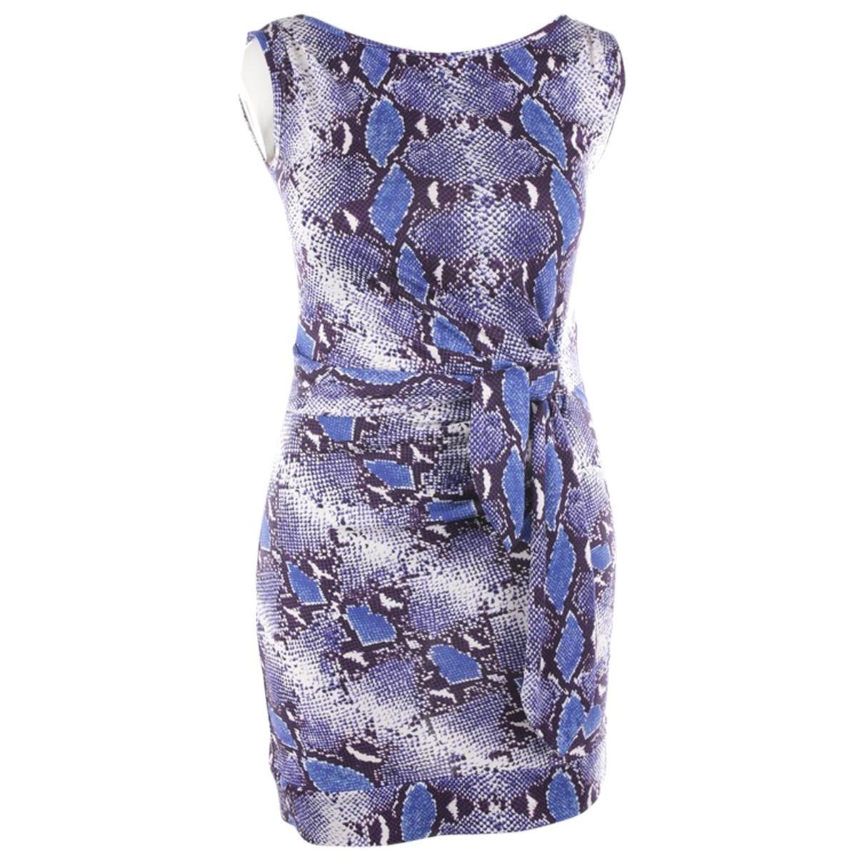 Diane Von Furstenberg N Blue Silk dress for Women 40 IT