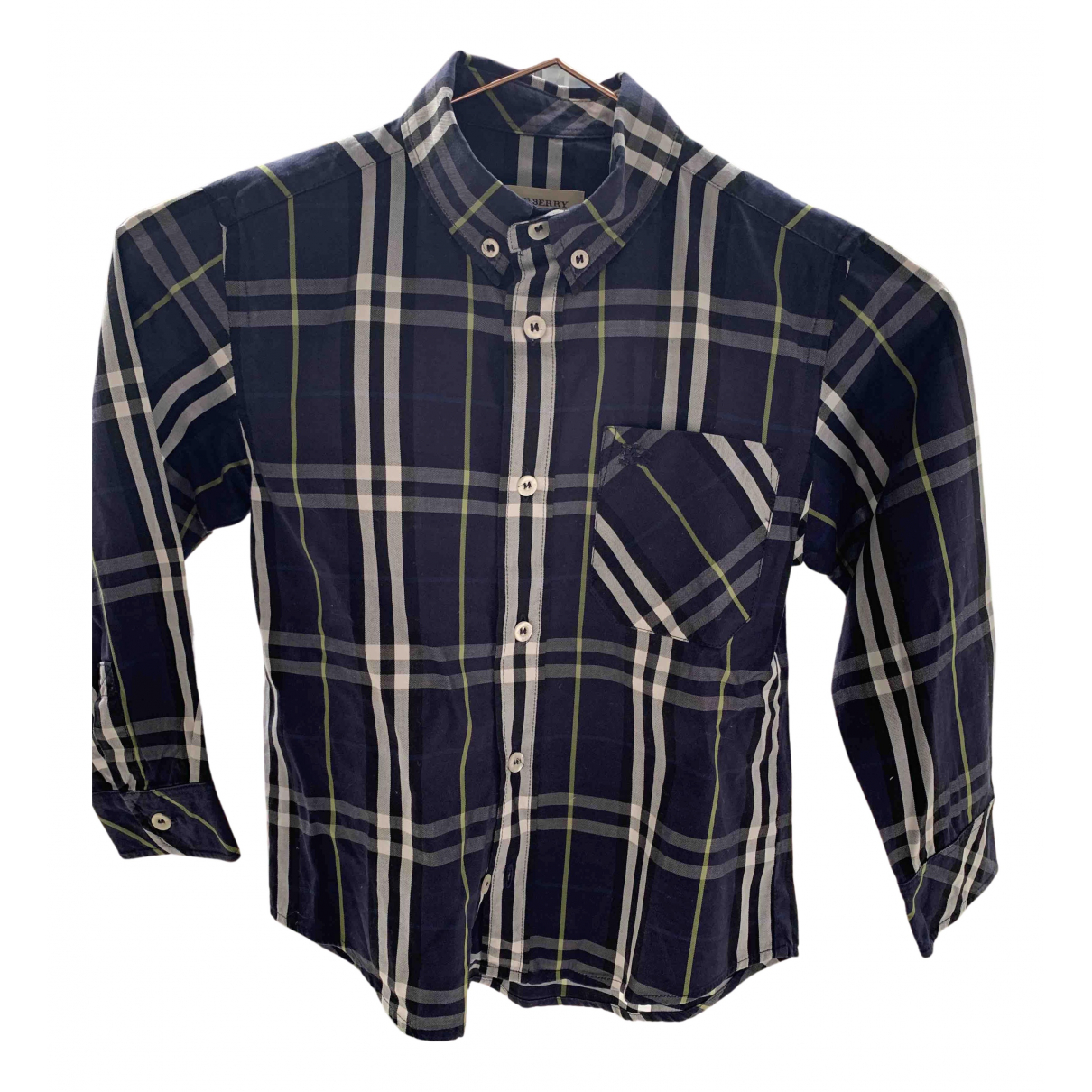 Burberry N Blue Cotton  top for Kids 8 years - until 50 inches UK