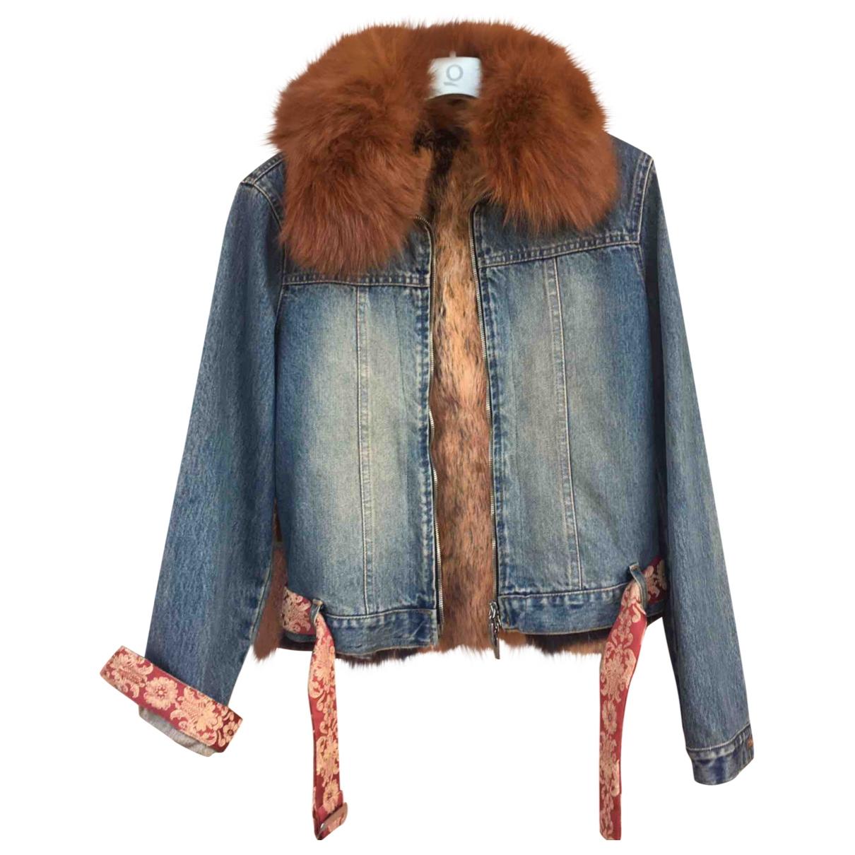 Non Signé / Unsigned \N Multicolour Rabbit jacket for Women 38 IT