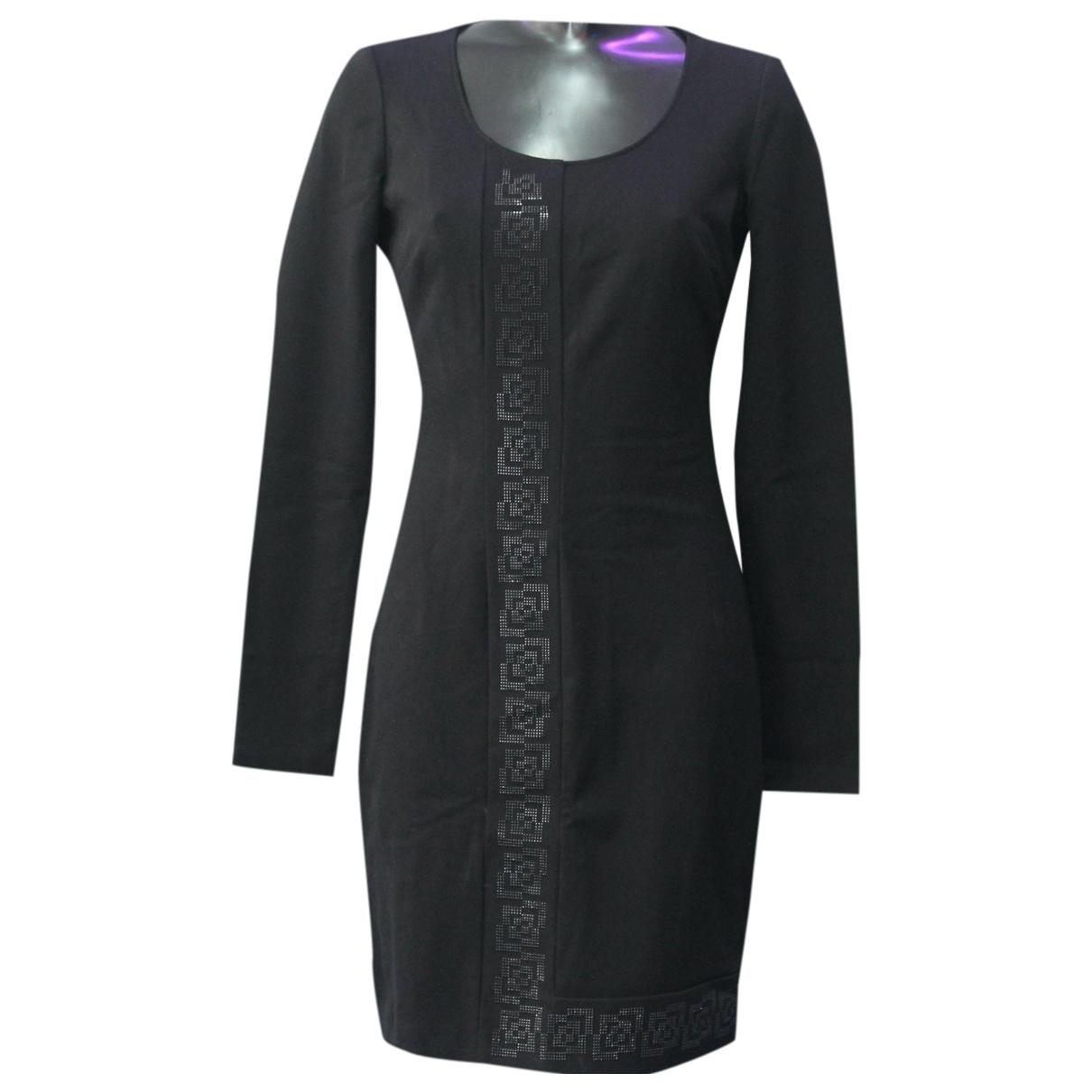 Versace Jeans \N Black Cotton dress for Women 40 IT