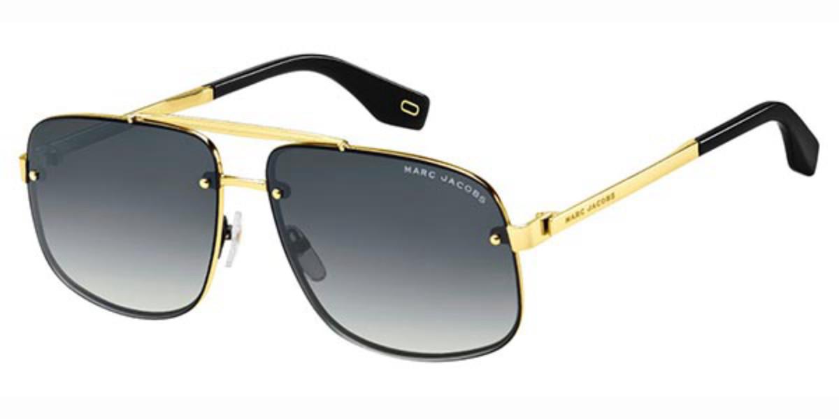Marc Jacobs MARC 318/S 2M2/9O Men's Sunglasses Black Size 61