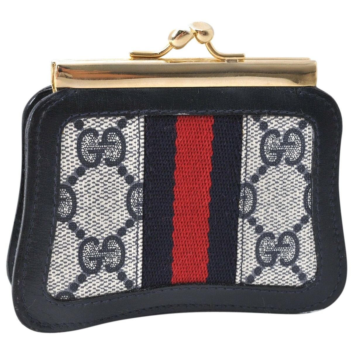 Gucci N Navy Cloth handbag for Women N