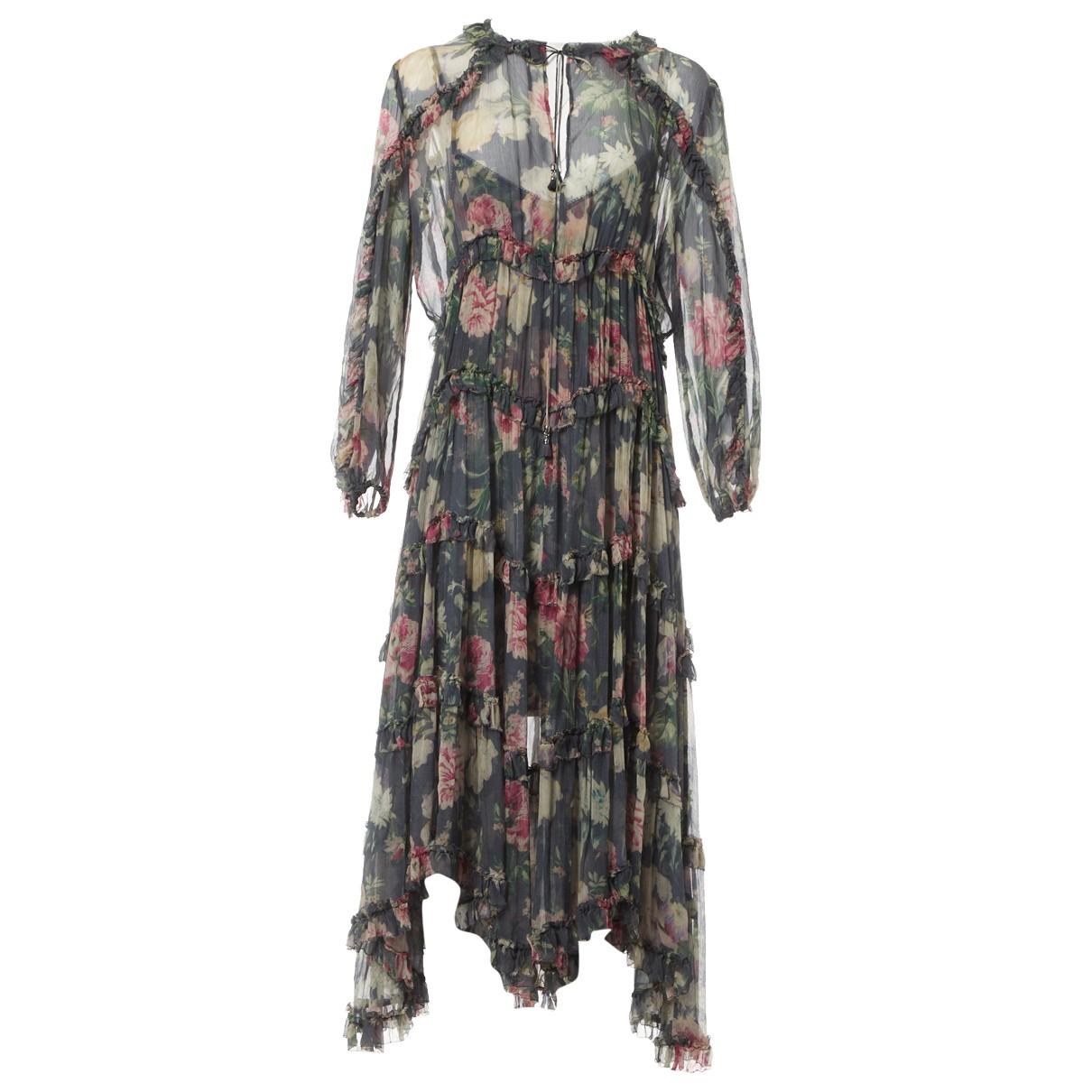 Zimmermann \N Multicolour Silk dress for Women 2 US