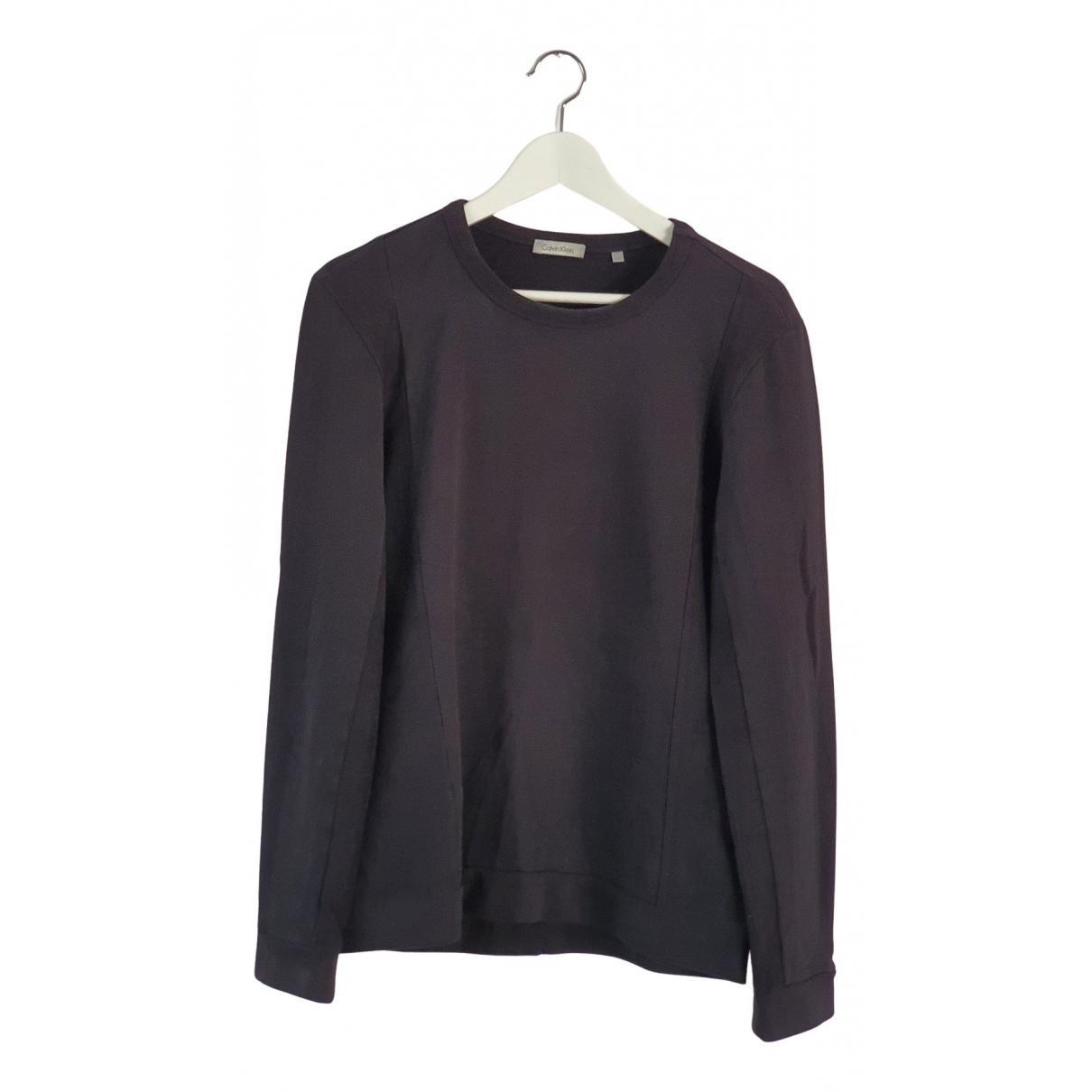 Calvin Klein - Pulls.Gilets.Sweats   pour homme en coton - noir