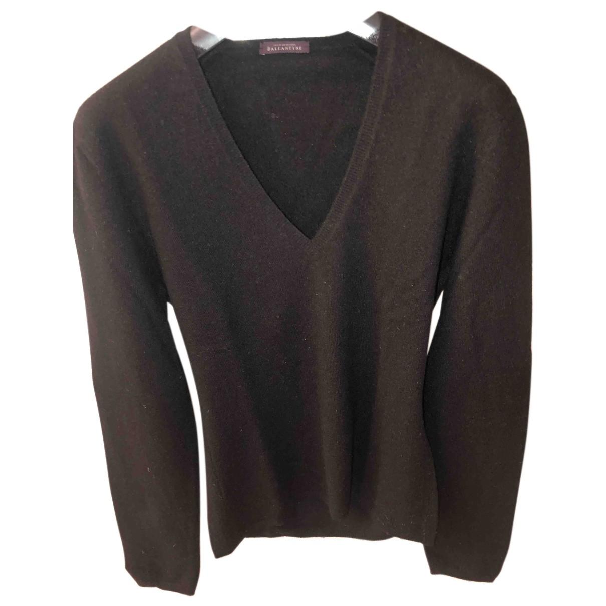 Ballantyne N Black Cashmere Knitwear for Women 36 IT