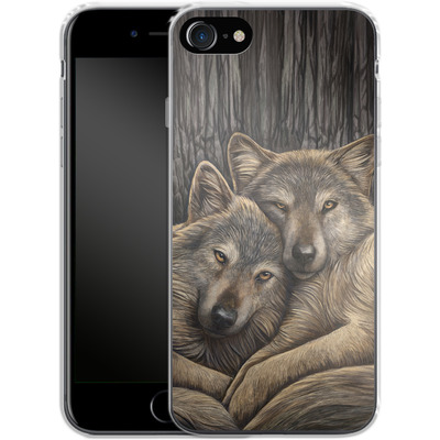 Apple iPhone 7 Silikon Handyhuelle - Loyal Companions von Lisa Parker