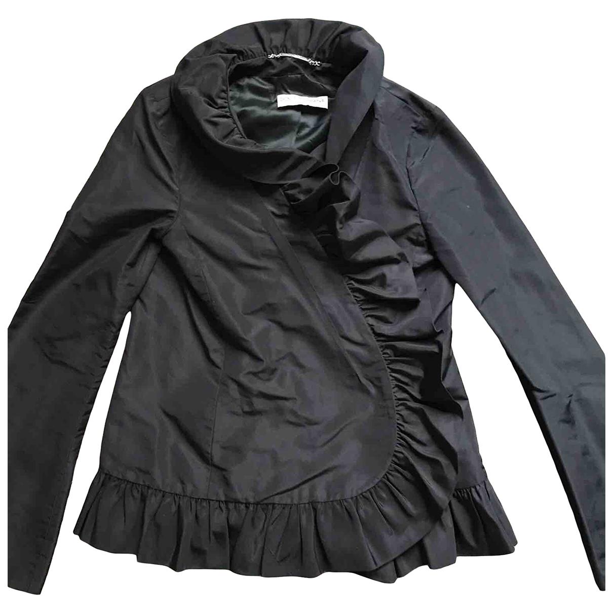 Dolce & Gabbana - Veste   pour femme en soie - noir