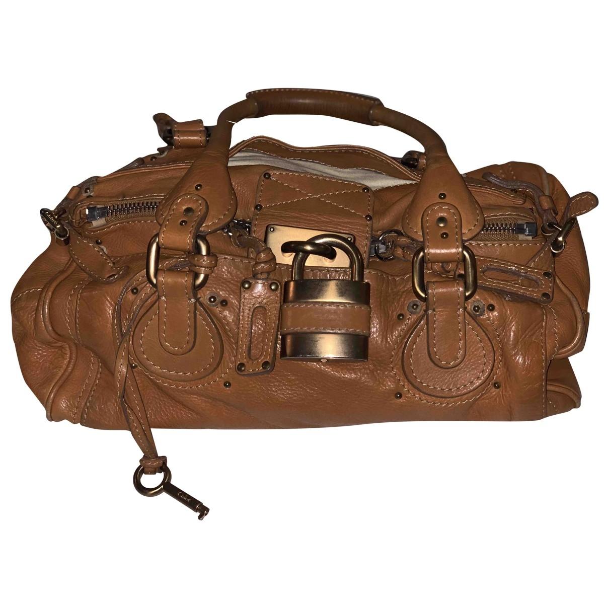 Chloé Paddington Camel Leather handbag for Women \N