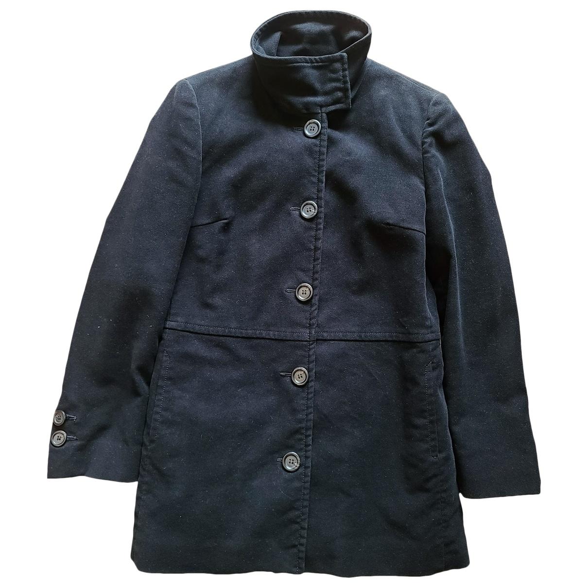 Marella \N Black Cotton jacket for Women 6 US