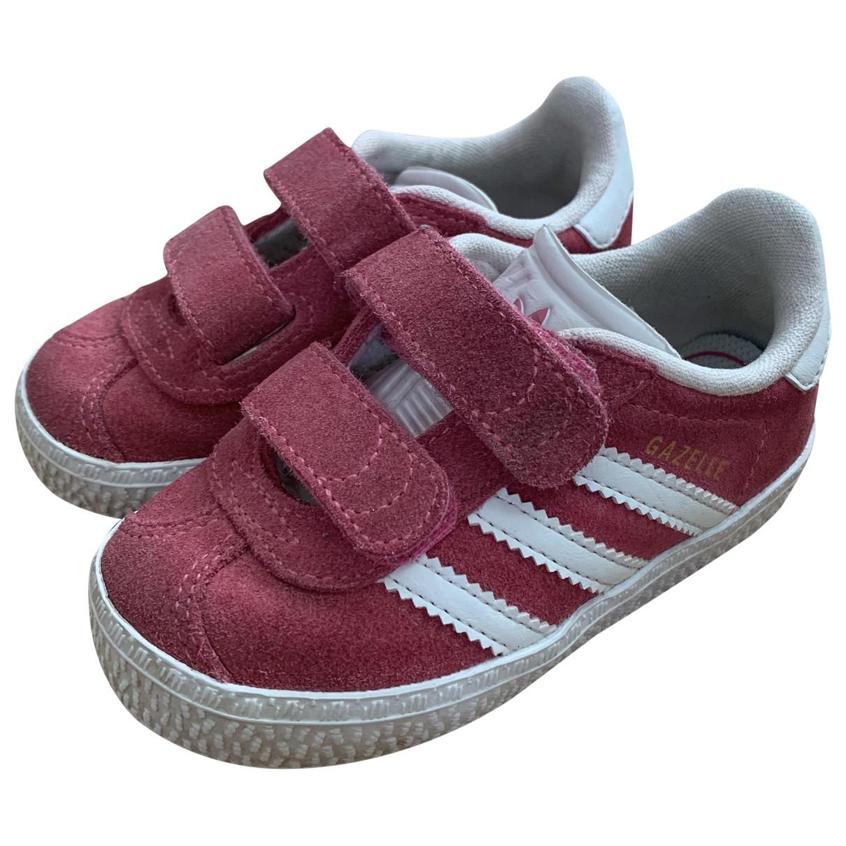Adidas - Baskets Gazelle pour enfant en suede - rose