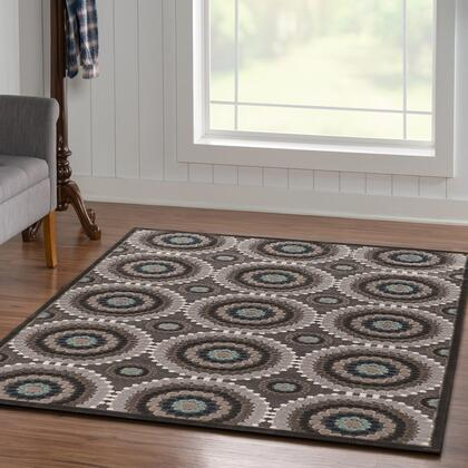 RUGHL0858 5 x 8 Rectangle Area Rug in
