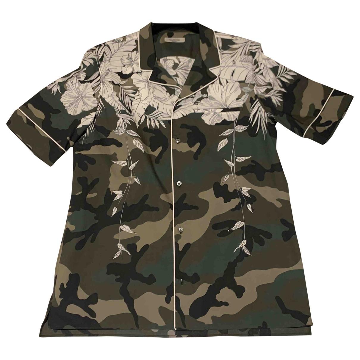 Valentino Garavani \N Multicolour Cotton Shirts for Men 40 EU (tour de cou / collar)