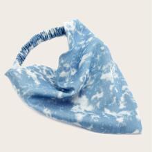 Stirnband mit Batik Muster