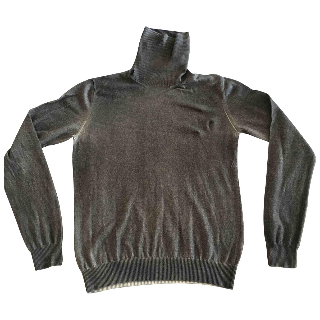 Ballantyne \N Pullover.Westen.Sweatshirts  in  Grau Wolle