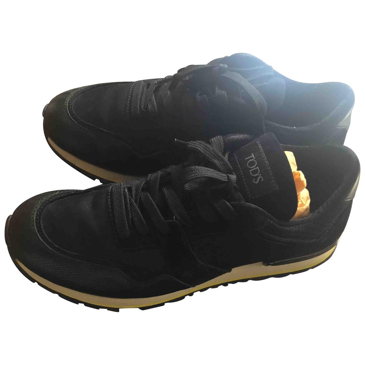 Tod's \N Sneakers in  Schwarz Leder