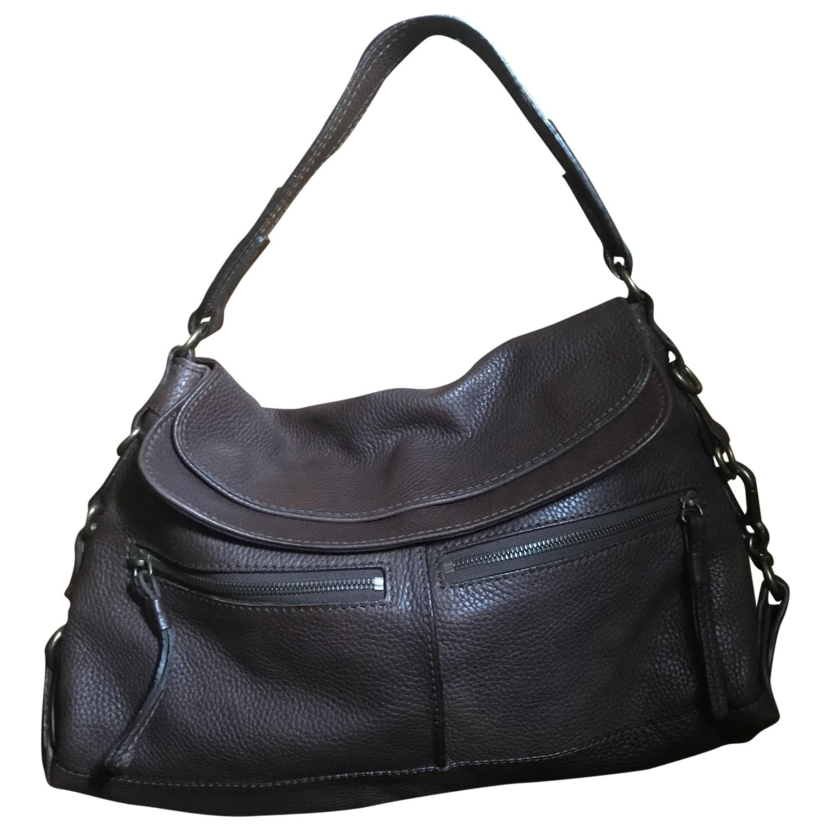 Andrea Mabiani \N Brown Leather handbag for Women \N