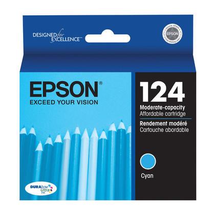 Epson T124220 Original Cyan Ink Cartridge