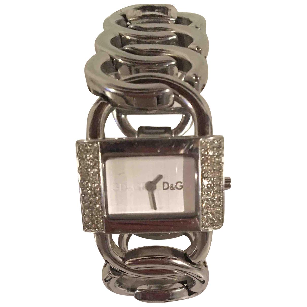 D&g N Silver Steel watch for Women N