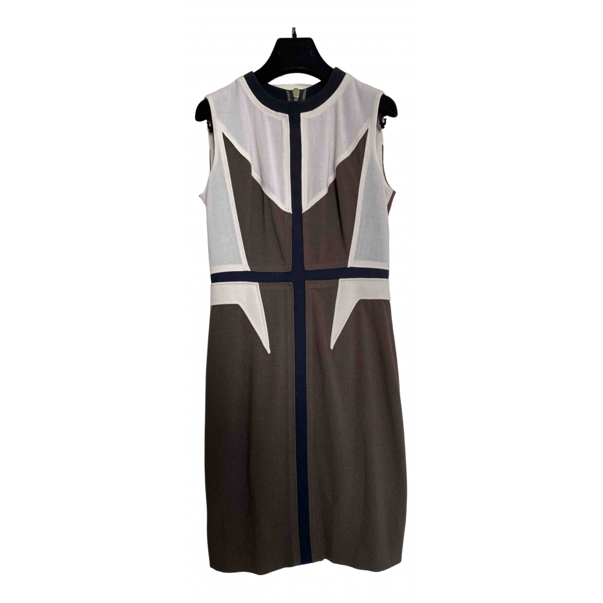 Givenchy N Brown Wool dress for Women 40 IT