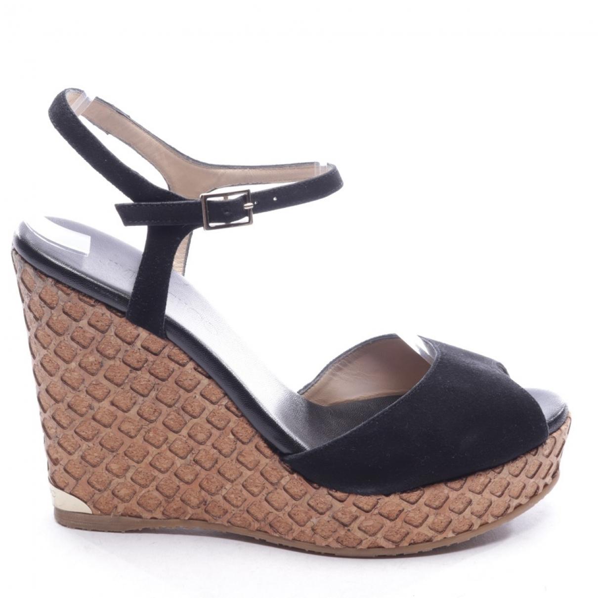Jimmy Choo \N Black Sandals for Women 40 EU
