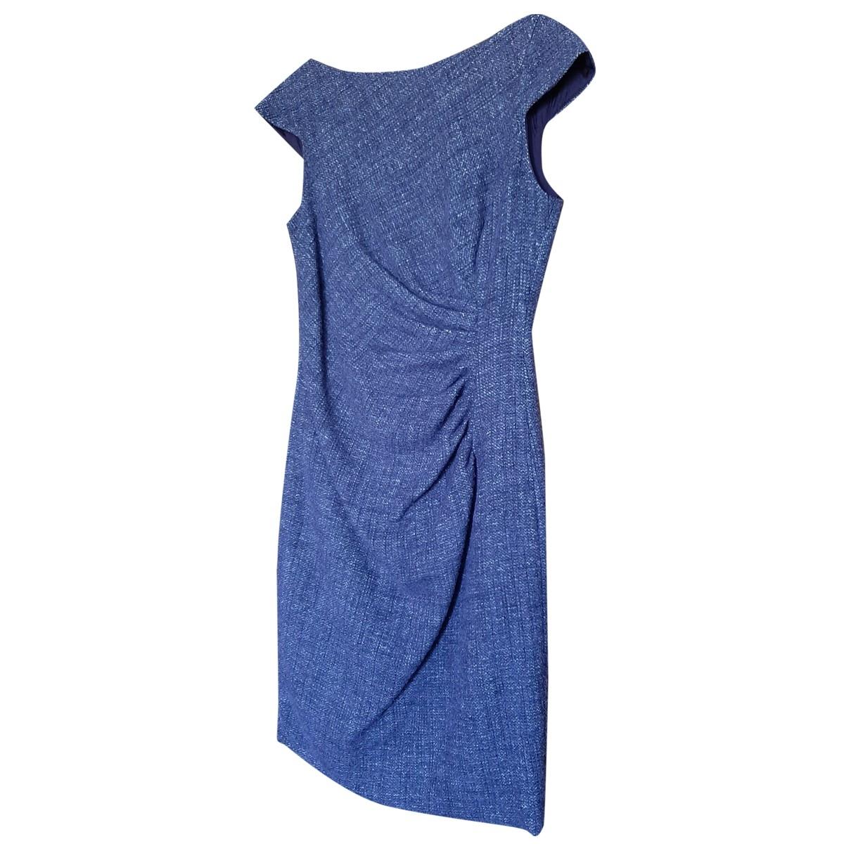 Carolina Herrera \N Kleid in  Lila Wolle