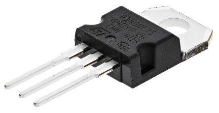 STMicroelectronics N-Channel MOSFET, 120 A, 75 V, 3-Pin TO-220  STP140NF75 (2)