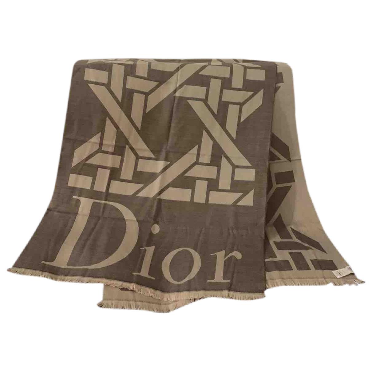 Bufanda de Lana Dior