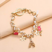 Playing Card Chain Bracelet