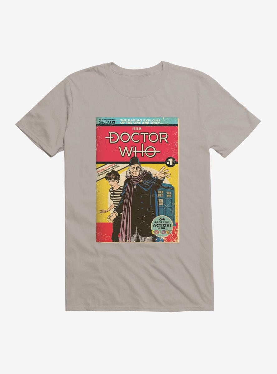 Doctor Who Ice Warrior Comic T-Shirt