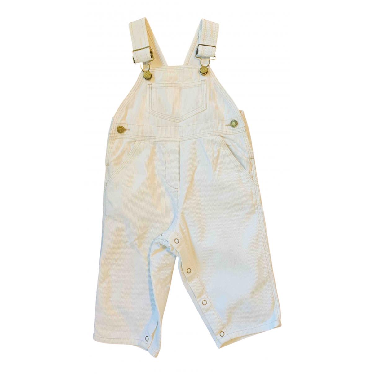 Bonpoint - Pantalon   pour enfant en coton - blanc